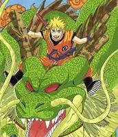 Naruto Riding The Mighty Shenron