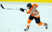 Shayne Gostisbehere's great slap shot
