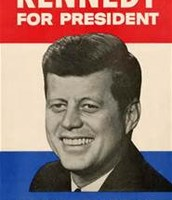 Campaign poster for Kennedy