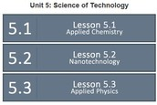 Units of Study:  Science of Technology