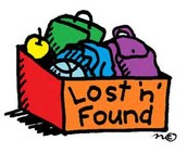 Lost and Found Items Will Be Donated on December 19