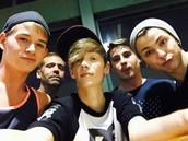 Me, Will, Jeremy (Misty Daze), Justin, Dillon (Victoria Vixen).