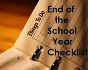 End-of-the Year Check List