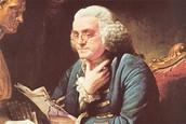 Benjamin Franklin in office