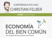 Recuerde 17 de Octubre. Christian Felber en Chile