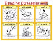 Learning the 6 reading stradiges