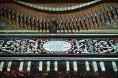 Baroque Clavichord Keyboard