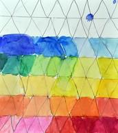 Geometric Values by Amina