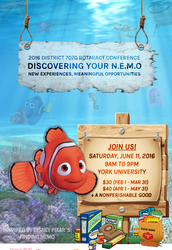 """Register for """"Discovering Your N.E.M.O. (New Experiences, Meaningful Opportunities)"""""""