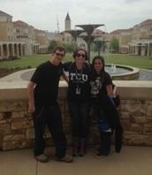 College Visitation Day at TCU