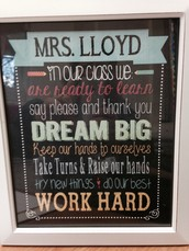 A Message From Mrs. Lloyd