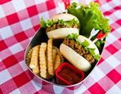 vegetariano hamburguesa