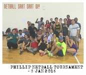 Phillip Netball Tournament 2016