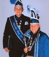 Prins Gerrie de Tweede en Adjudant Gert