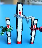 Craft Idea for Santa's Workshop IDEA #2: PENGUINS