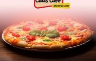 Nystekt italiensk pizza