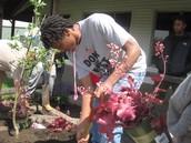 Marlon S. working hard!
