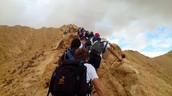 העליה על הר הסנפיר