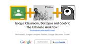 Google Classroom, Doctopus, & Goobric