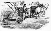 McCormick's Harvesting Machine