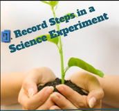 Record steps in a science experiment.