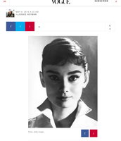 Today marks what would be Audrey Hepburn's 86th birthday