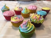Cupcakes con merengue italiano!