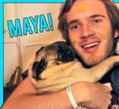Pewdiepie and Maya
