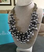 SOLD Isadora Pearl Bib - $50