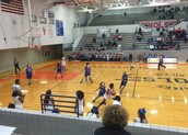 Girls basketball doing their thing!