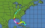 Tracking Katrina