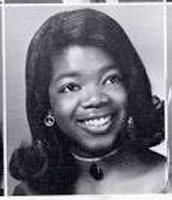 Oprah as a teen