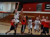 First Girls' Basketball Game of the season