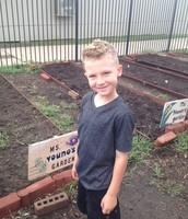 Brandon happy to plant!