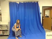 Picture Using the Blue Screen