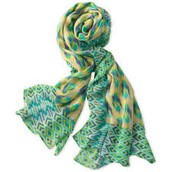 UNION SQUARE SCARF - PASTEL IKAT $20 (65% off)
