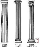 Ancient Greece Columns
