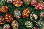 German Easter Egg Decorations