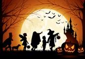 Halloween is not just monsters...