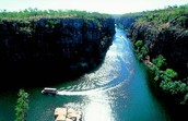 The Katherine Gorge
