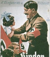 Hitler playing with Children
