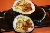 A Sushi Burrito