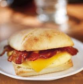 Our Bacon, Egg, and Gouda Sand-which