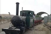 רכבת העמק המיתולוגית, שהיתה חלק מהרכבת החיג'אזית מחיפה ודמשק ועד חיג'אז (היא מדינה)
