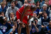 Micheal Jordan flu game