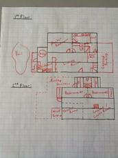 Floor Plan Sketch