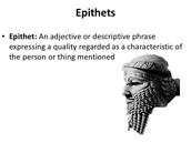 Epic Epithet