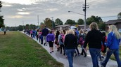 We had students, staff and parents participate together!
