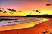 Umina Beach At Sunset