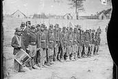 Brady's photo of Union Troops